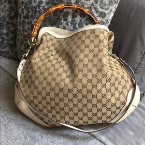 Gucci Peggy Large Bamboo Top Handle Bag